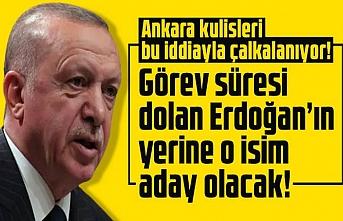 Erdoğan'ın yerine aday olacak isim ortaya çıktı!