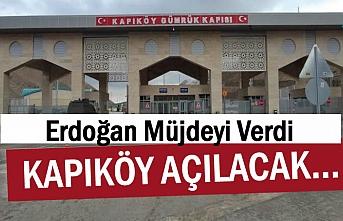 Kapıköy Sınır Kapısı açılıyor! İran Tarafında Yol Çalışması!