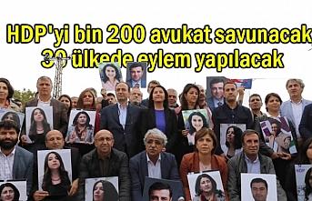 Kobane Davasında HDP'yi bin 200 avukat savunacak