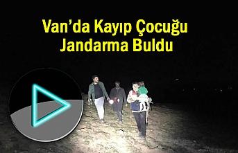 Van'da Kayıp Çocuğu Jandarma Buldu