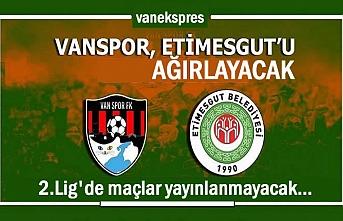 Vanspor ve 2.Lig'de maçlar yayınlanmayacak