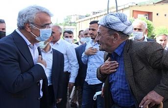 Sancar Hakkari'de Konuştu: Sınırda 5 Yılda 15 Kişi Öldürüldü