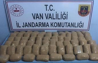 Van'da 66 kilo eroin yakalandı