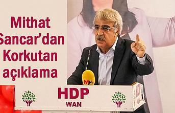 HDP Lideri Sancar'dan Korkutan açıklama