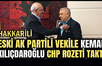Eski AK Parti milletvekili Zeydan CHP'ye katıldı