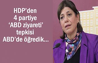 HDP'den 4 partiye 'ABD ziyareti' tepkisi