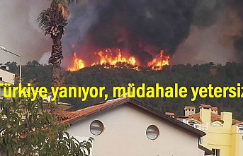 Türkiye yanıyor, müdahale yetersiz