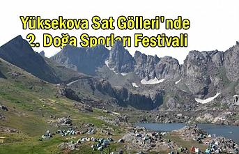 Yüksekova Sat Gölleri'nde 2. Doğa Sporları Festivali