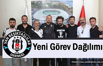 Beşiktaşlılar Derneği yönetimi görev dağılımı yaptı