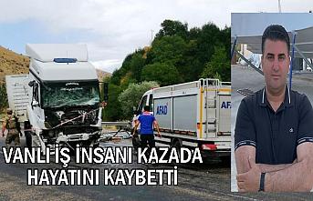 Van-Tatvan Karayolunda TIR ile kamyonet çarpıştı: 2 ölü