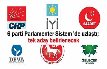 6 parti Parlamenter Sistem dedi; tek aday belirlenecek