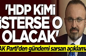 Turan: HDP kimi isterse Millet İttifakı'nın adayı o olacaktır