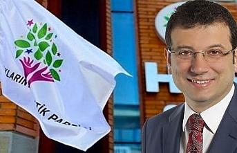 Ekrem İmamoğlu HDP sorusuna flaş Yanıt