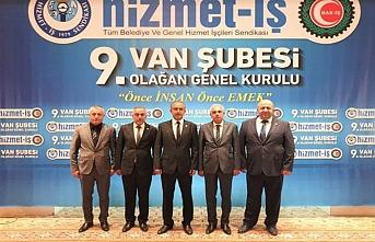 Hizmet İş Sendikası Van Şubesi Akdeniz'e Emanet