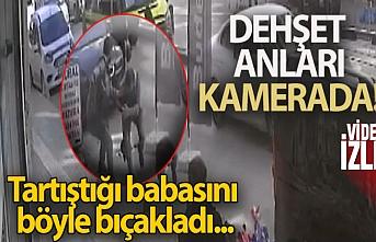 Van'da bir kişi babasını bıçakladı!
