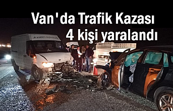 Van Hakkari karayolunda kaza: 4 yaralı