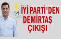 İYİ Parti'den Selahattin Demirtaş çıkışı