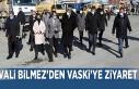 Vali Bilmez'den VASKİ'ye ziyaret