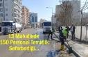 İpekyolu Belediyesi'nden yaz temizlik seferberliği