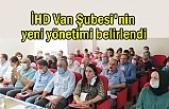 İHD Van Şubesi'nin yeni yönetimi belli oldu