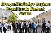 Esenyurt Belediye Başkanı Bozkurt Van'da İncelemelerde Bulundu