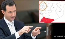 Esad: o ilçeyi yayınladığı harita da Suriye toprağı saydı