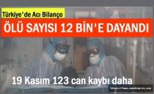 Türkiye'de koronadan ölenlerin sayısı 12 bine dayandı