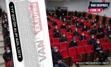 Van'da 50 Soför İçin Kuralar Çekildi - İşte İsim Listesi