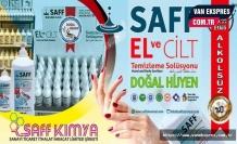 Saff Kimya'dan alkolsüz dezenfektan