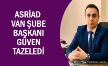 ASRİAD başkanı Han Güven Tazeledi