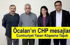 Cumhuriyet yazarı Barış Pehlivan : Öcalan'ın CHP mesajları