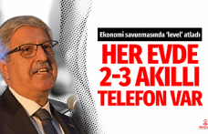 AK Partili Demiröz: Her evde otomobil ve iki yada üç telefon var