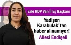 Eski HDP Van İl Eş Başkanından haber alınamıyor