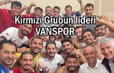 Vanspor Maraş'ı 3-0 yendi! Grupta lider oldu