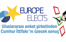 Uluslararası anket firması Europe Elects'ten...