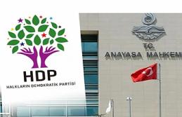 HDP'nin kapatılma davasında ilk inceleme haftaya...