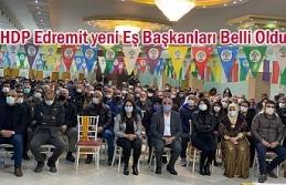 HDP Edremit'te ilçe eş başkanları seçildi