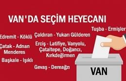 Van'ın 7 İlçesinde Seçim Heyecanı