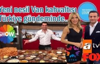 Van Kahvaltısı Türkiye'nin Gündeminde