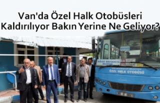 Van'da Halk otobüsleri kaldırılıyor mu?