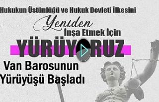 Barolar Van ve 40 ilden Ankara'ya yürüyor   Video