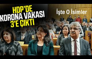 Coronaya Yakalanan HDP'li 3 vekilin ismi belli...