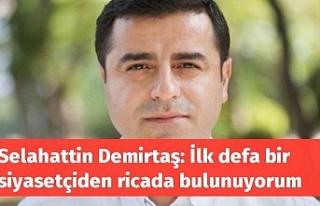 Demirtaş'tan Adalet Bakanı Gül'e Avukatlar...