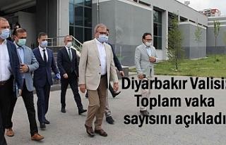 Diyarbakır Valisi: İldeki vaka sayısını açıkladı