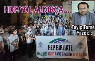 HDP yol aldıkça | Tayip Temel Yazdı