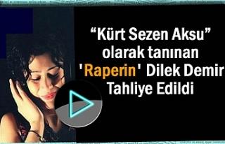 'Kürt Sezen Aksu' Tahliye Edildi