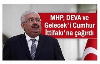 MHP'li Yalçın'dan DEVA ve Gelecek Partisine...