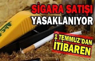 Sigara Satışı 1 Temmuzdan Sonra Yasak!