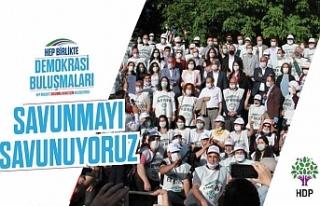 HDP Demokrasi Buluşmaları başlatıyor...