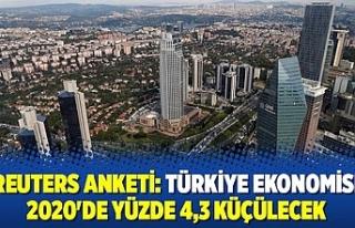 Reuters Ekonomi anketinde Türkiye'ye kötü...